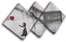 Balloon Girl  Banksy Street - 13-0756(00B)-MP19-LO
